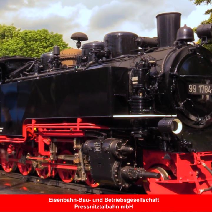 Referenz 1 Eisenbahn-Bau- und Betriebsgesellschaft Pressnitztalbahn mbH